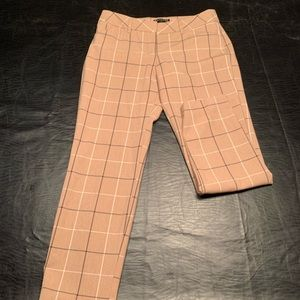 Express Plaid Pants